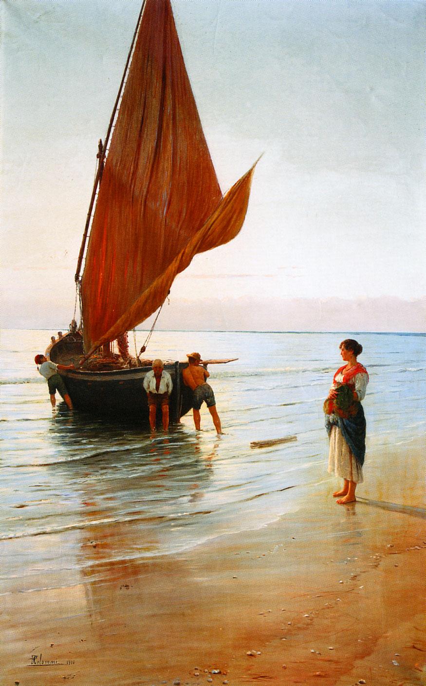 Pasquale Celommi - Partenza della lancetta