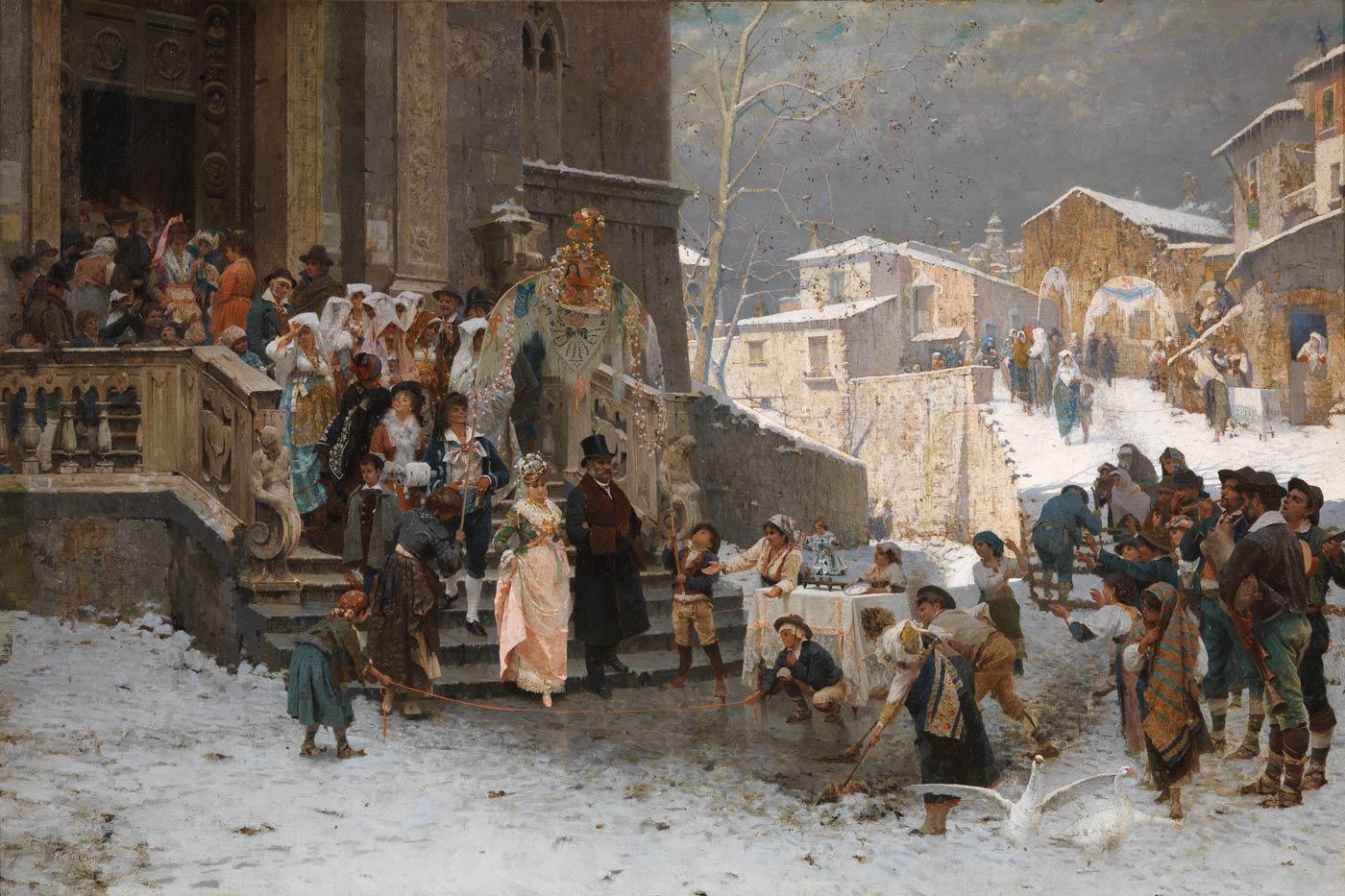 Giacomo Di Chirico - Uno sposalizio in basilicata